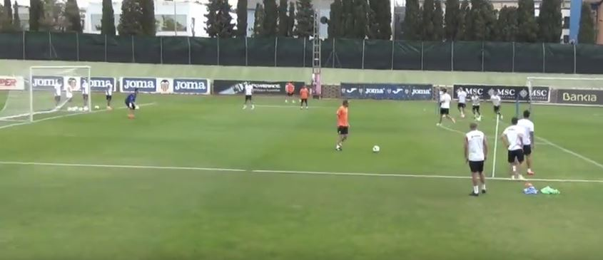 Valence CF entrainement football pro