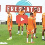VIDEO FLUMINENSE FC – Echauffement les prises de balles et les passes