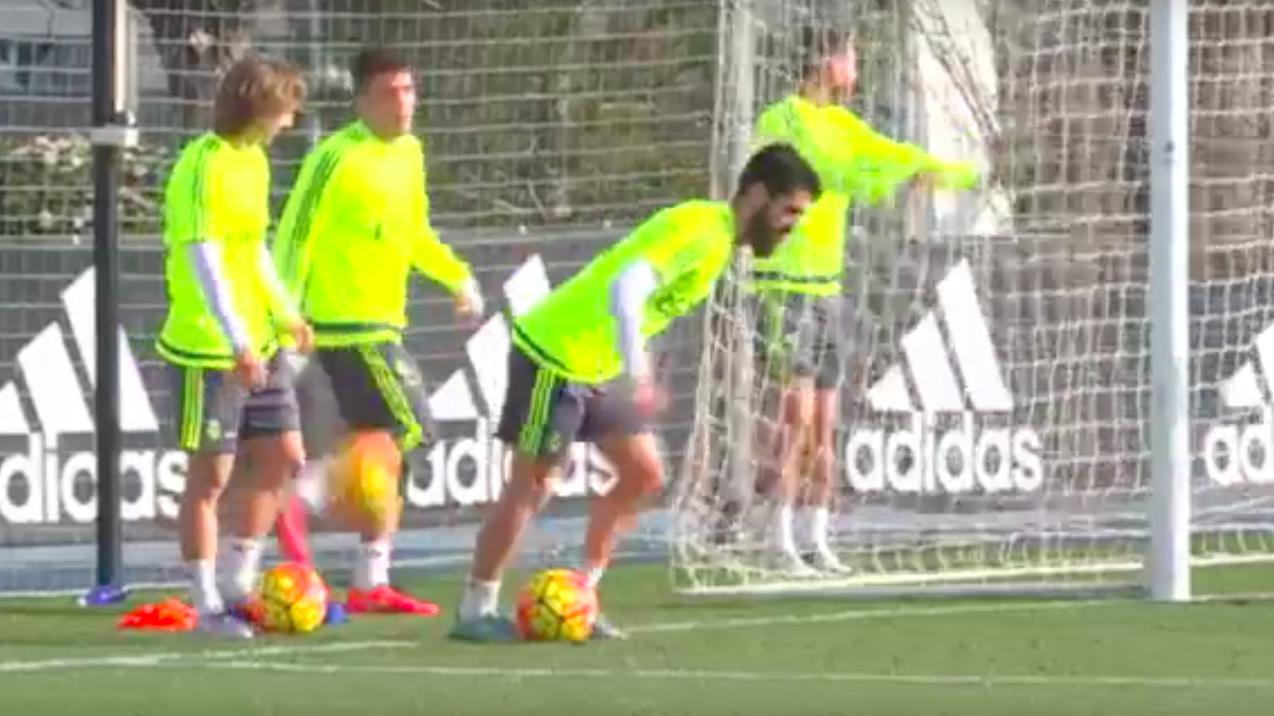entrainement Zidane
