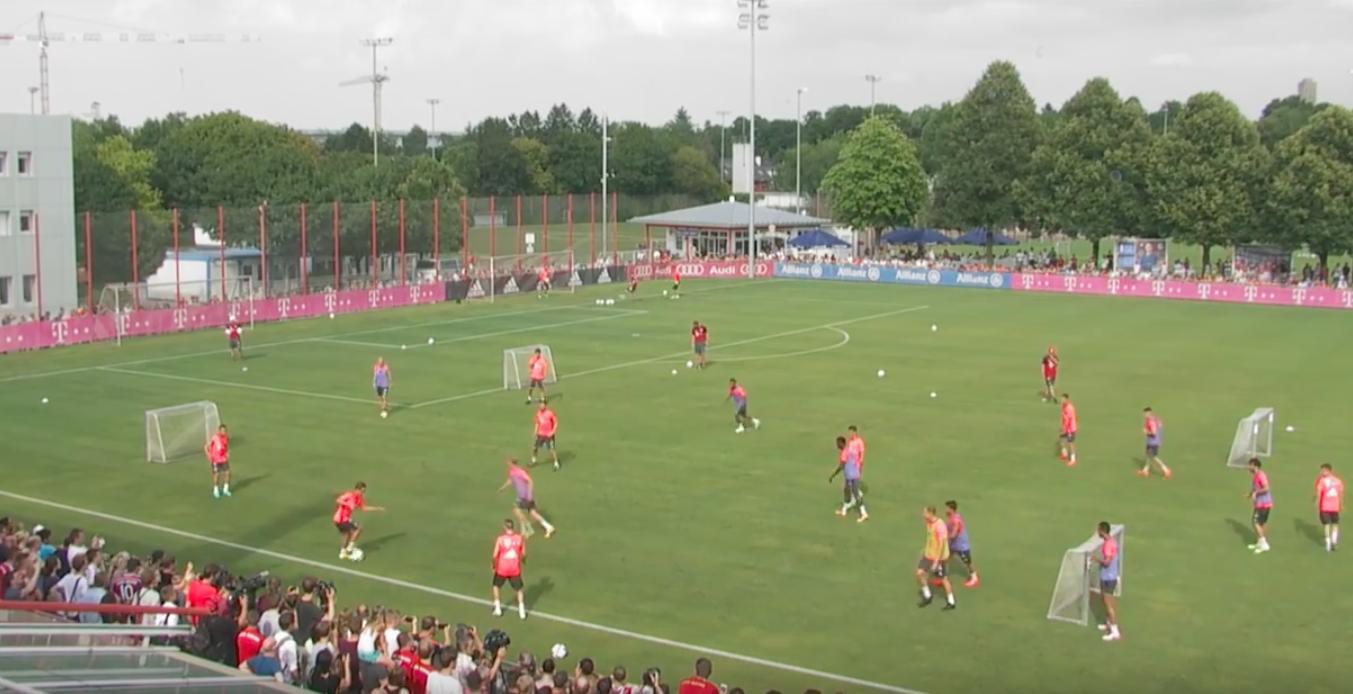 progression collective Bayern