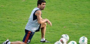 FLUMINENSE FC – Exercice de football pour s'échauffer en travaillant les prises de balles et les passes