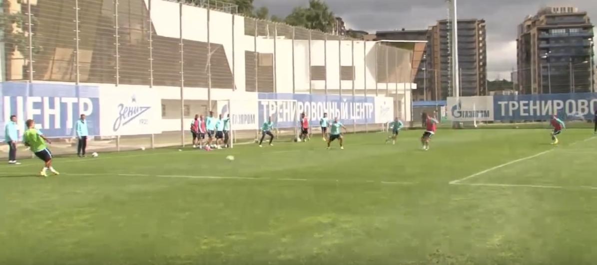 Zenith entrainement football pro