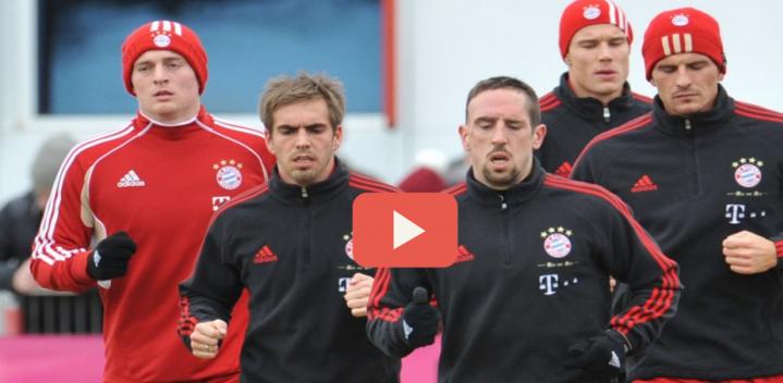 VIDEO BAYERN MUNICH – Fixer un adversaire pour libérer un partenaire
