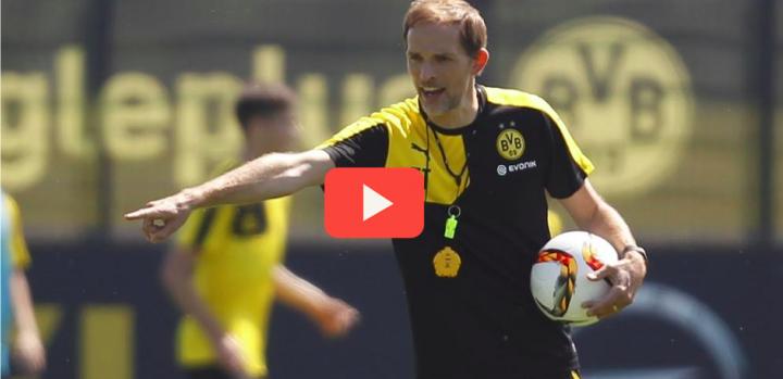 VIDEO BORUSSIA DORTMUND – Jeu de position 6 contre 6 + 3 par Thomas Tuchel