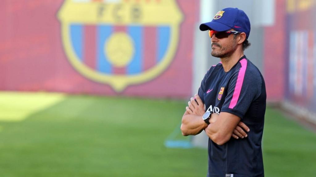 FC BARCELONE – Entrainement pour travailler les duels aériens offensifs par Luis Enrique