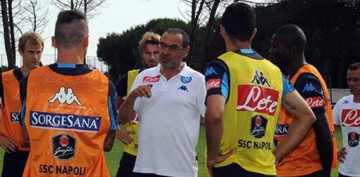 SSC NAPLES – Attaquer la profondeur par Maurizio Sarri