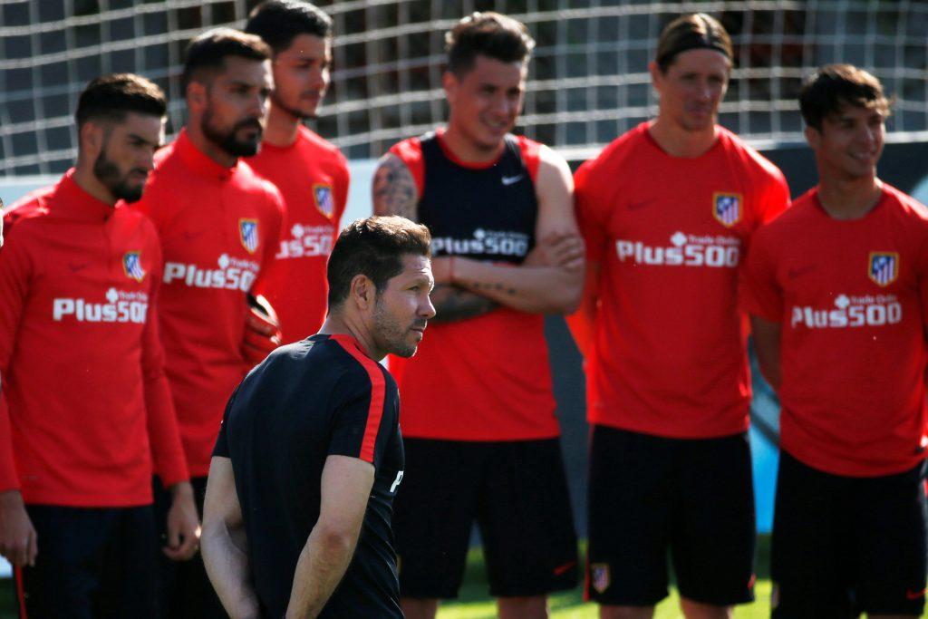 ATL.MADRID – Exercice combiné pour travailler la vitesse et la finition