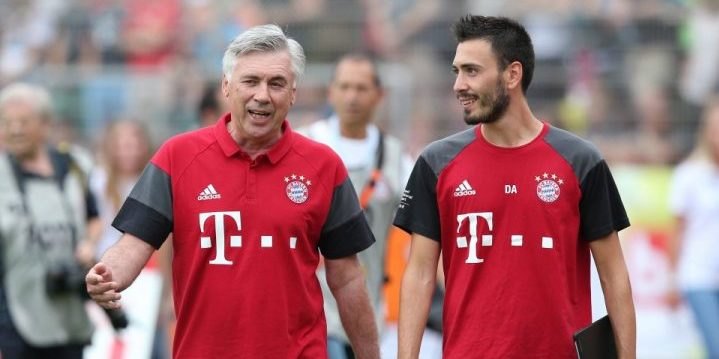 You are currently viewing BAYERN MUNICH – Jouer dans le dos de la défense adverse par Carlo Ancelotti