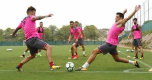 LEVANTE UD – Rondo en mouvement : 5 contre 2