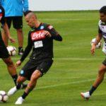 NAPLES – Entrainer la finition par Carlo Ancelotti